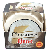 5 Chaource 250g carton Lincet