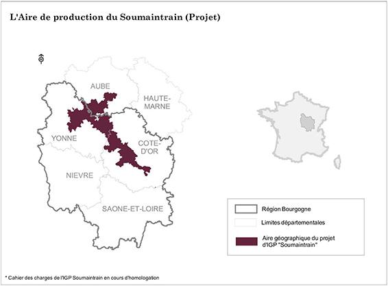 Aire de production du Soumaintrain