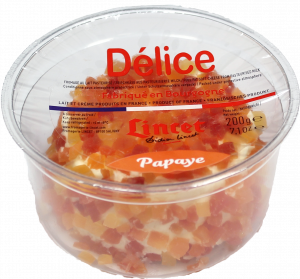 DELICE PAPAYE 200G Rond