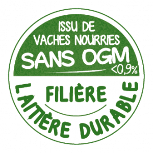 VECTO Logo FILIERE+ SANS OGM sticker
