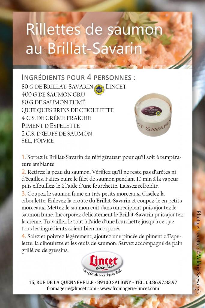 Recette Rillettes saumon au BS2